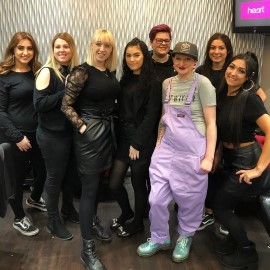 Hairdressing Motivational Speaker with Georgia Bell