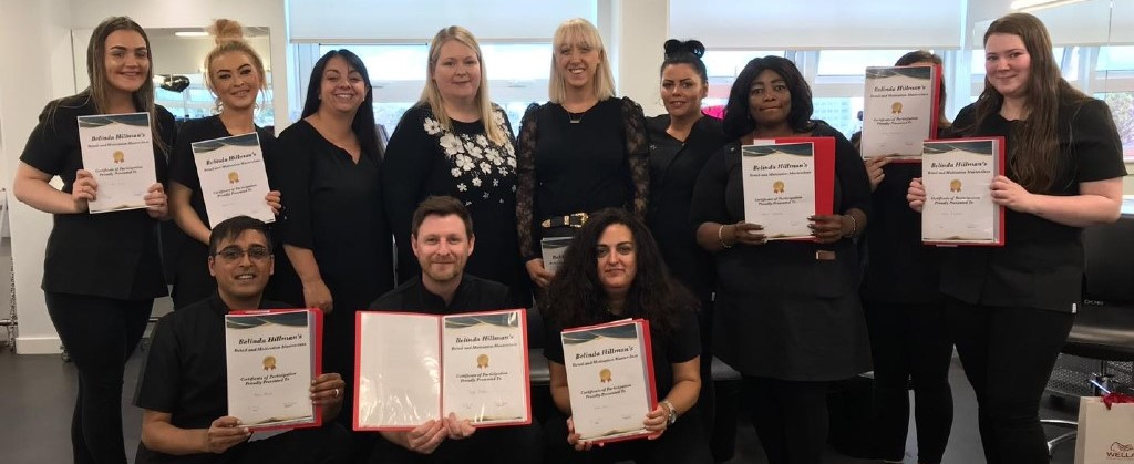 Hairdressing Educator and Mentor_with students
