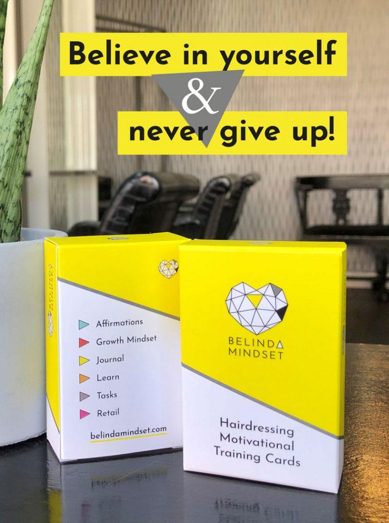 Belinda Mindset Hairdressing Motivational Training Cards