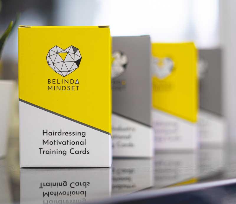 Belinda Mindset Store, Hair and beauty Motivational Training Cards